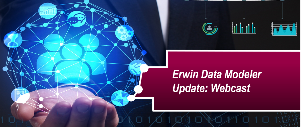 erwin Data Modeler update: Webcast June 27th 10:00 am EST – Featured Image