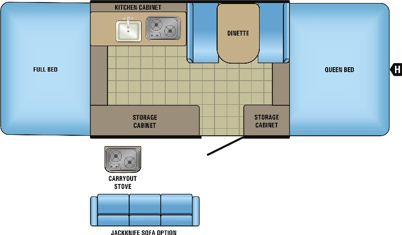 10SD Floorplan