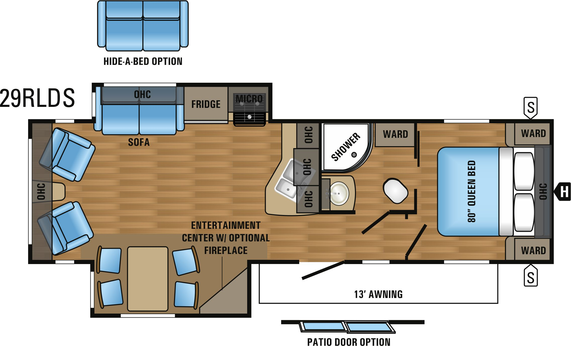 29RLDS Floorplan