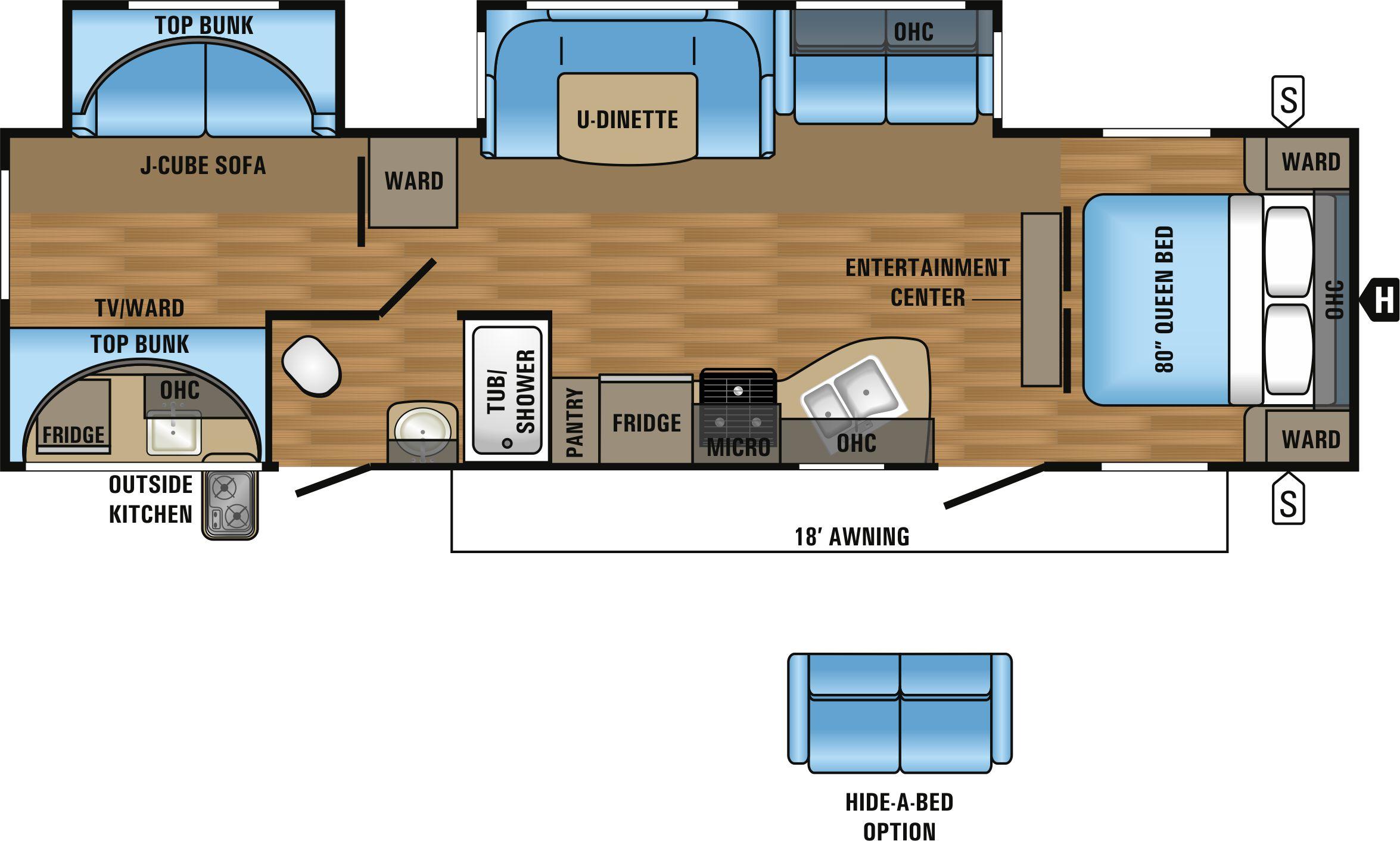 32BHDS Floorplan