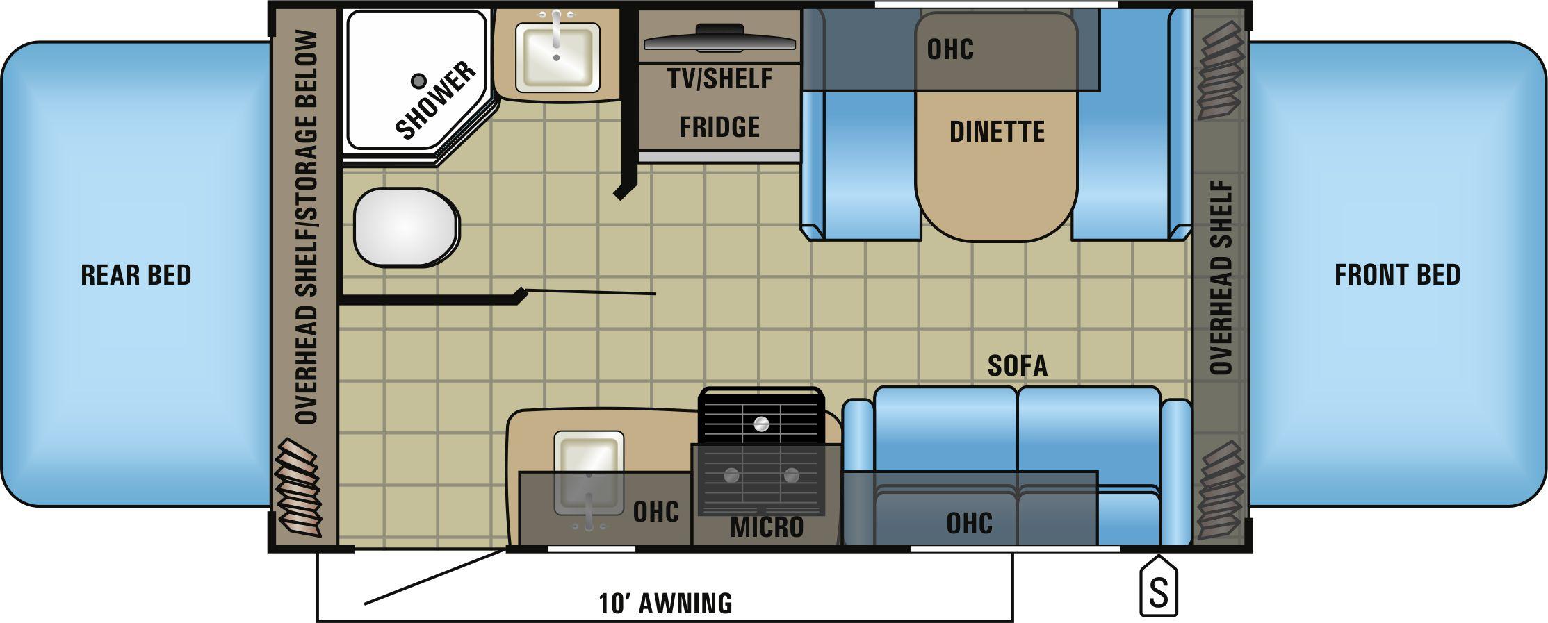 X17Z Floorplan