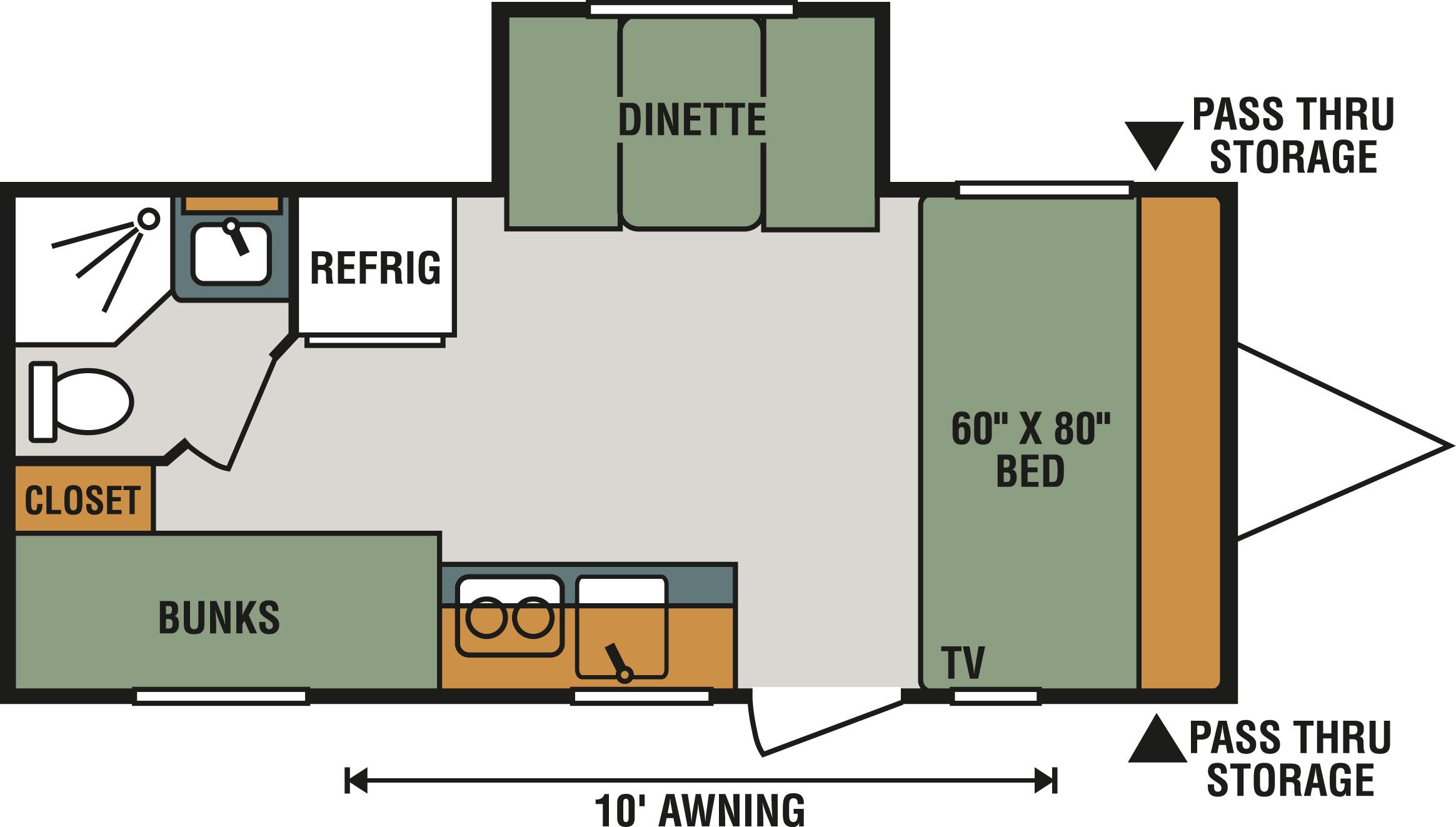 E191BH Floorplan