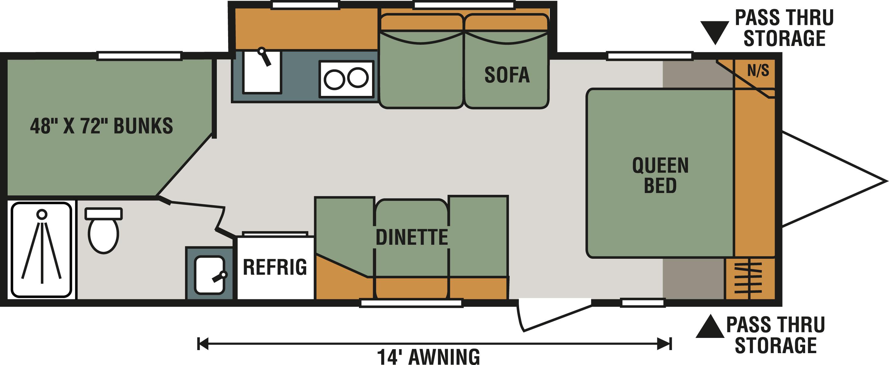 E231BH Floorplan
