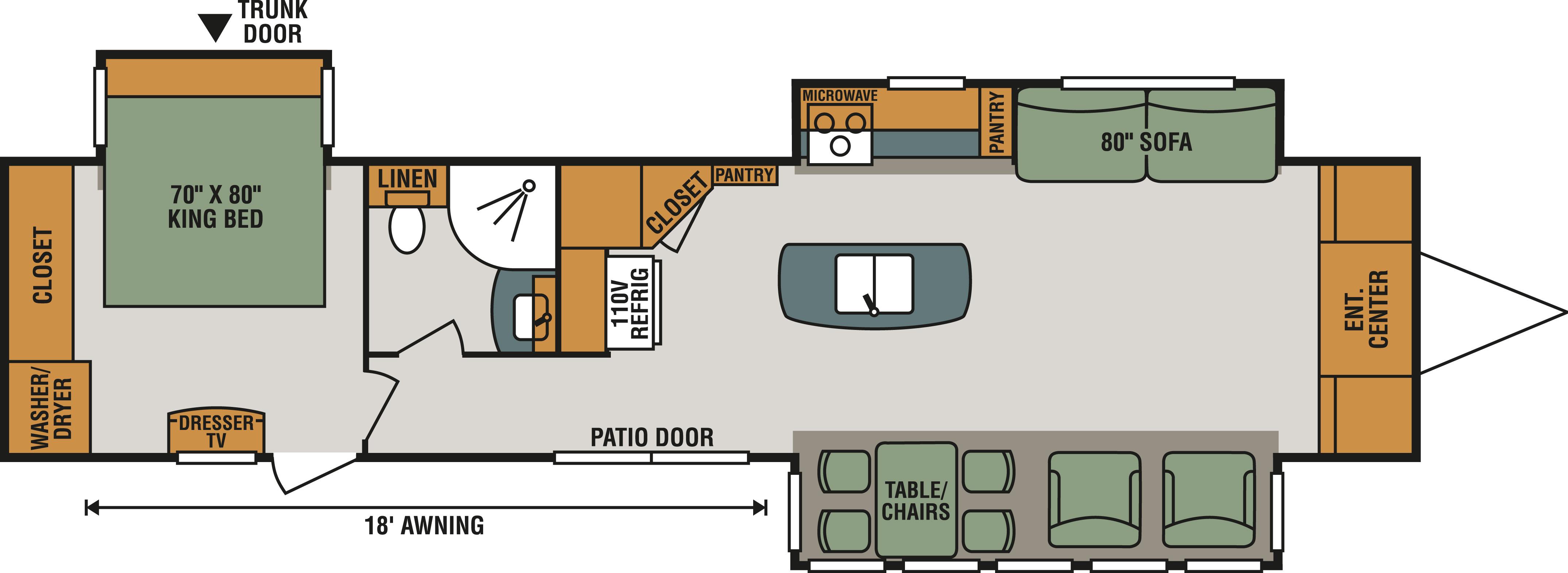 363FL Floorplan