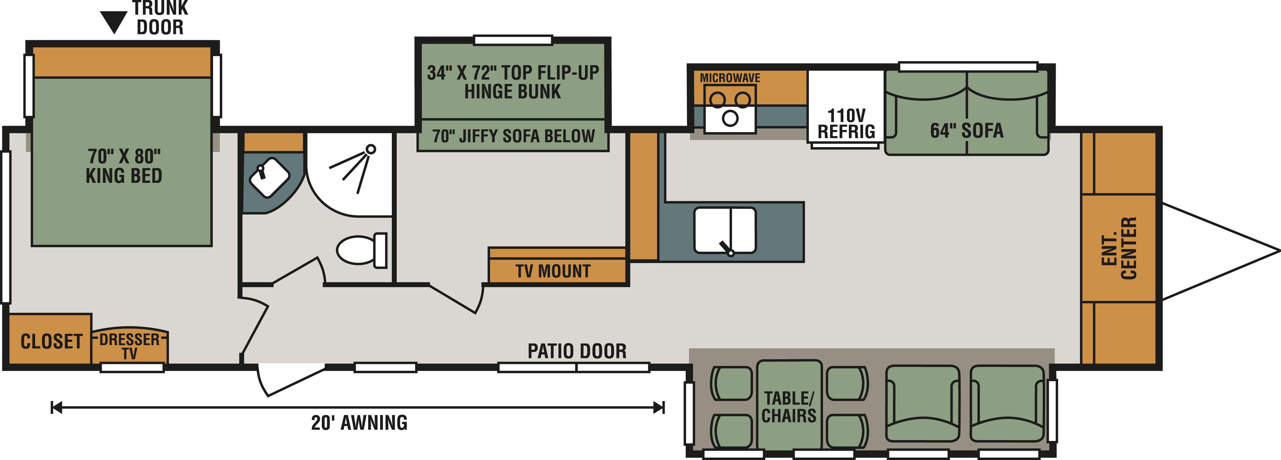 364BH Floorplan