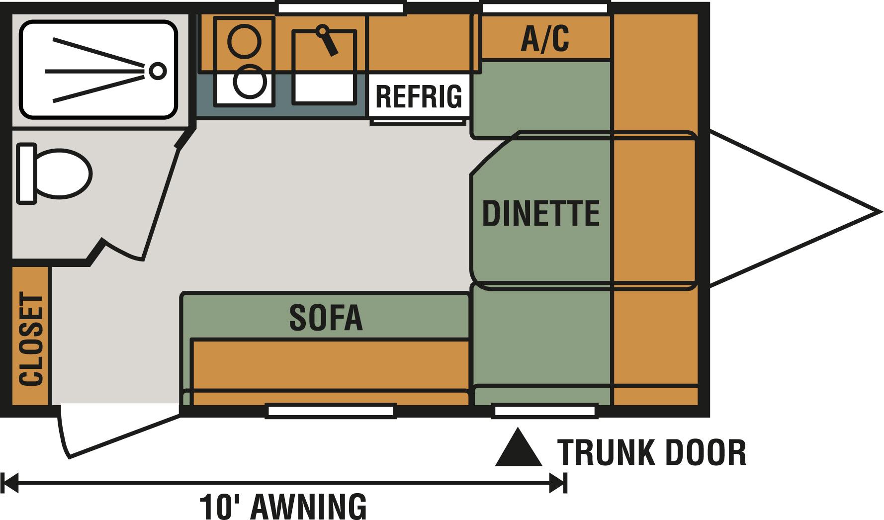 130RB Floorplan