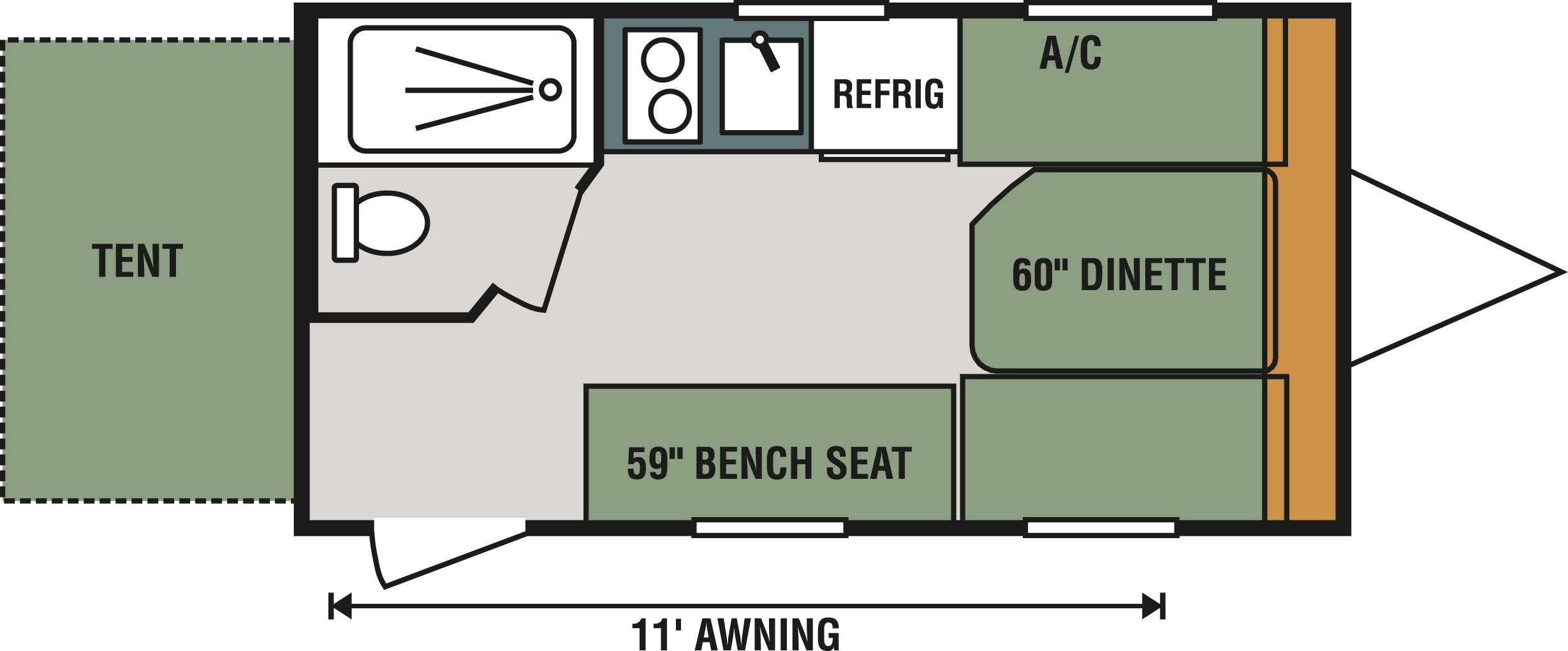 150RBT Floorplan