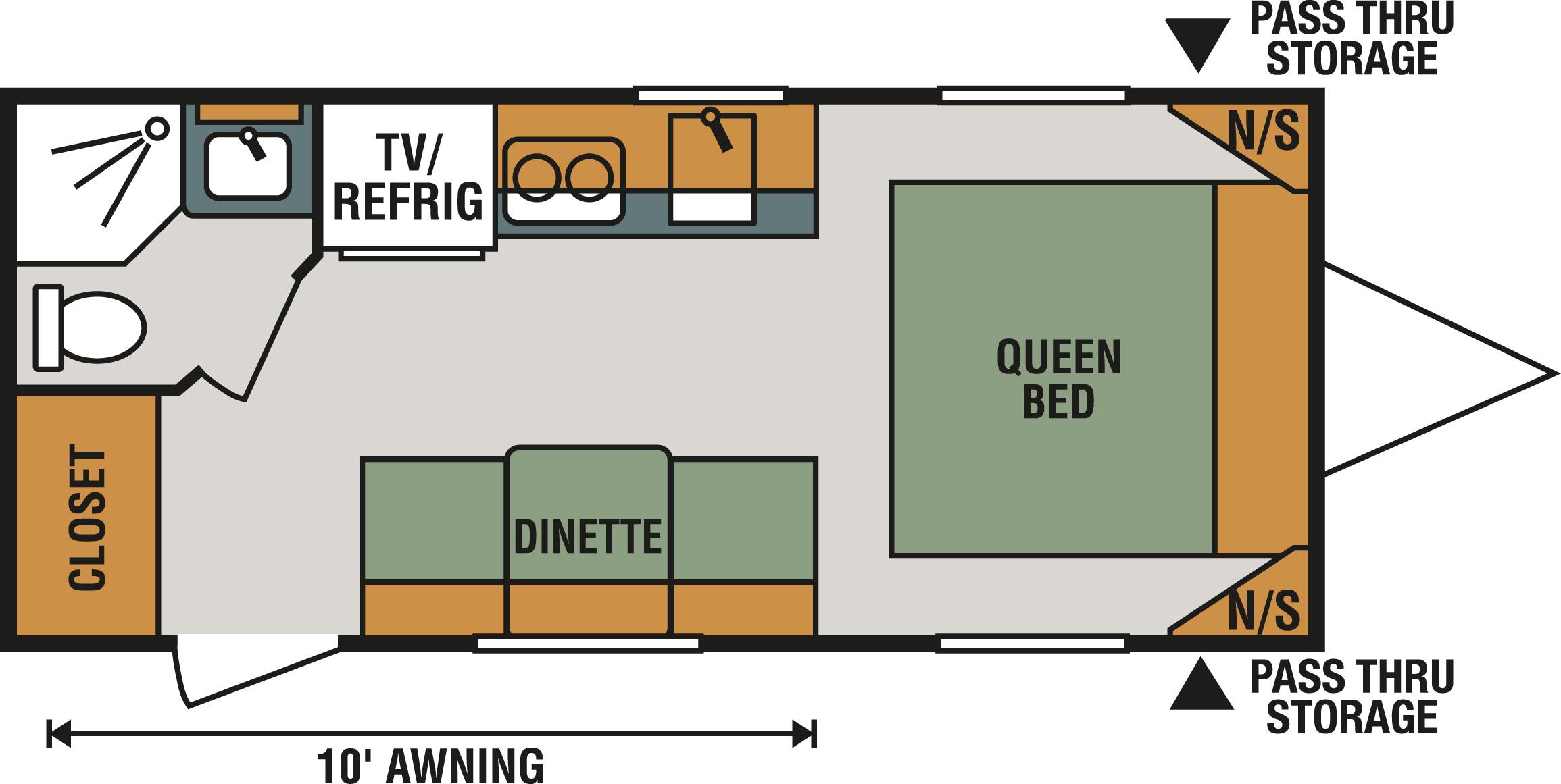 160QB Floorplan
