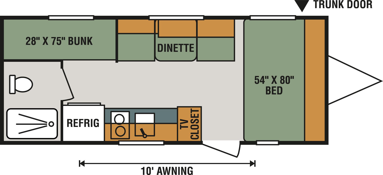 180BH Floorplan