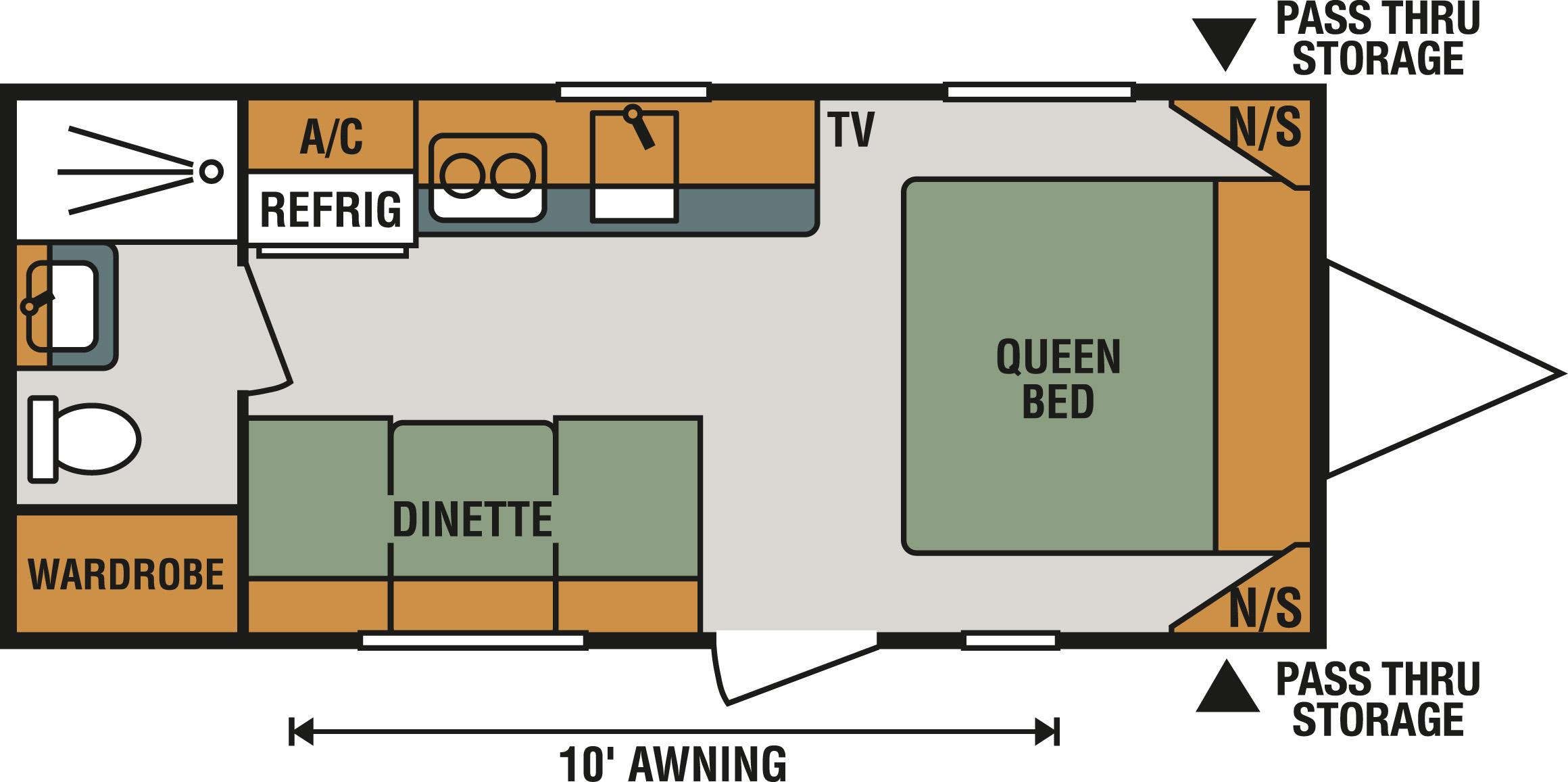 180QB Floorplan