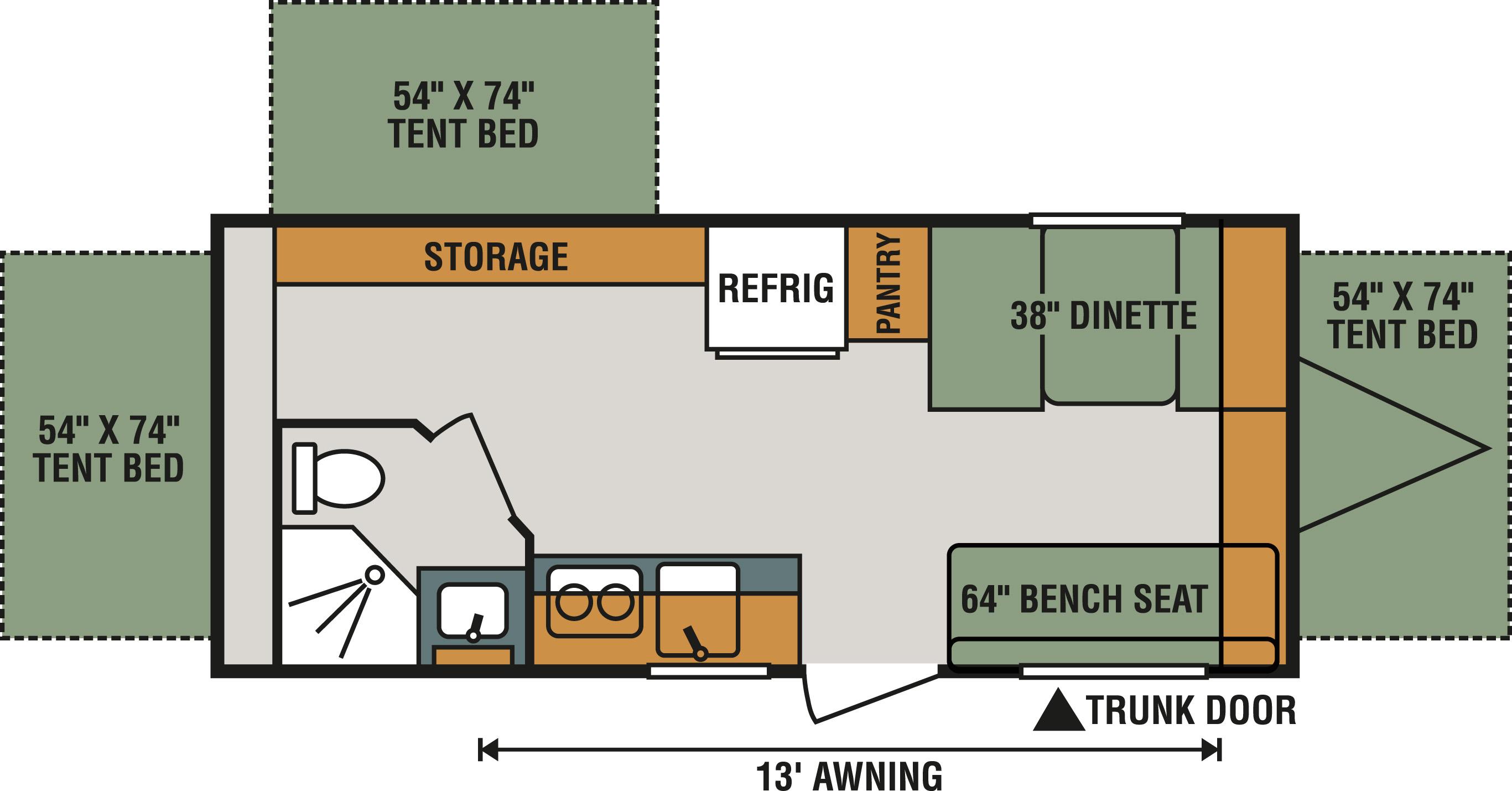 180RBT Floorplan