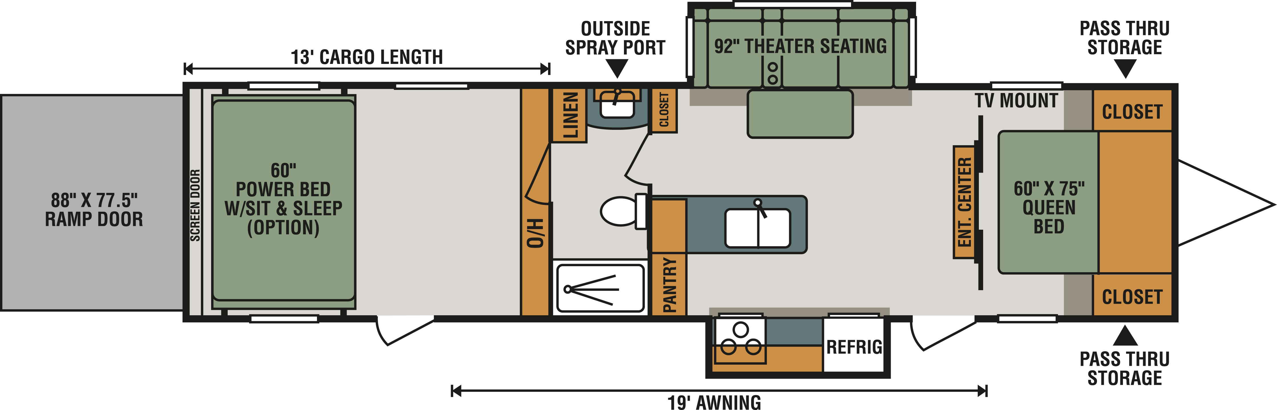 342THR13 Floorplan