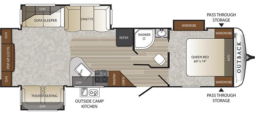 298RE Floorplan