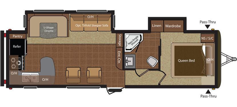 30RKDS Floorplan