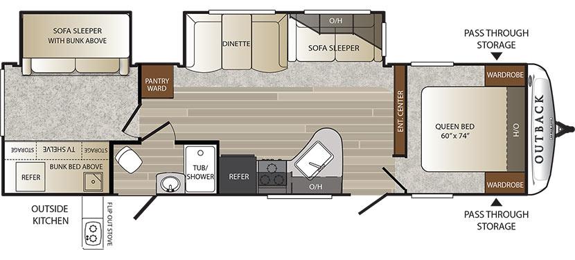 312BH Floorplan