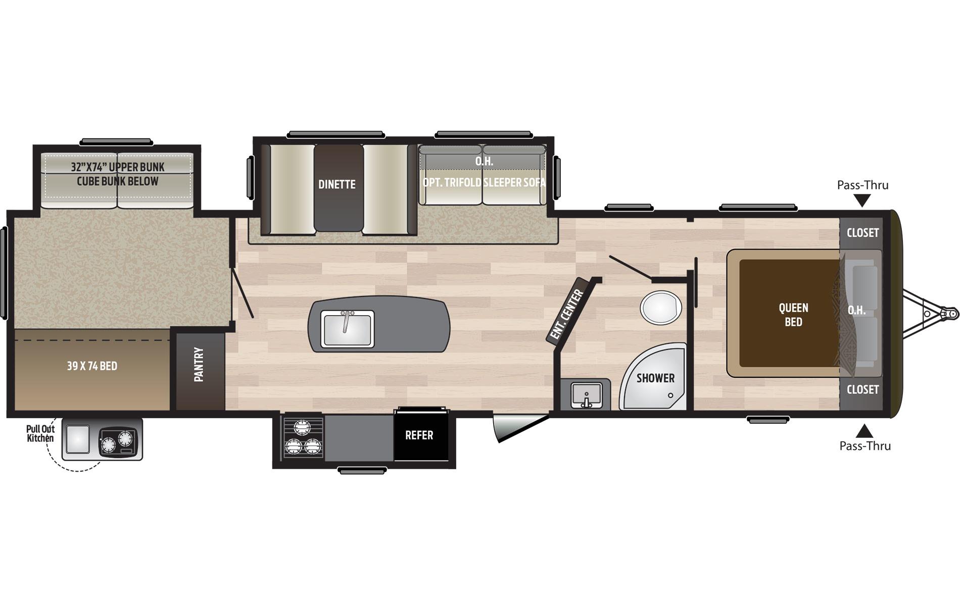 32BHTS Floorplan