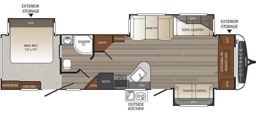 333FE Floorplan