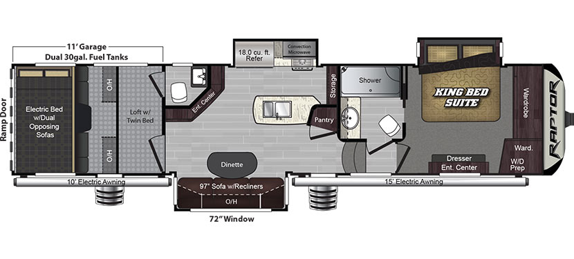 355TS Floorplan