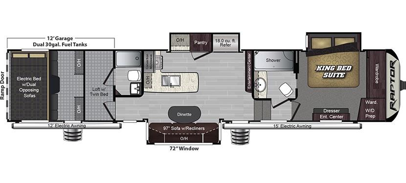 405TS Floorplan