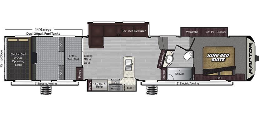 424TS Floorplan