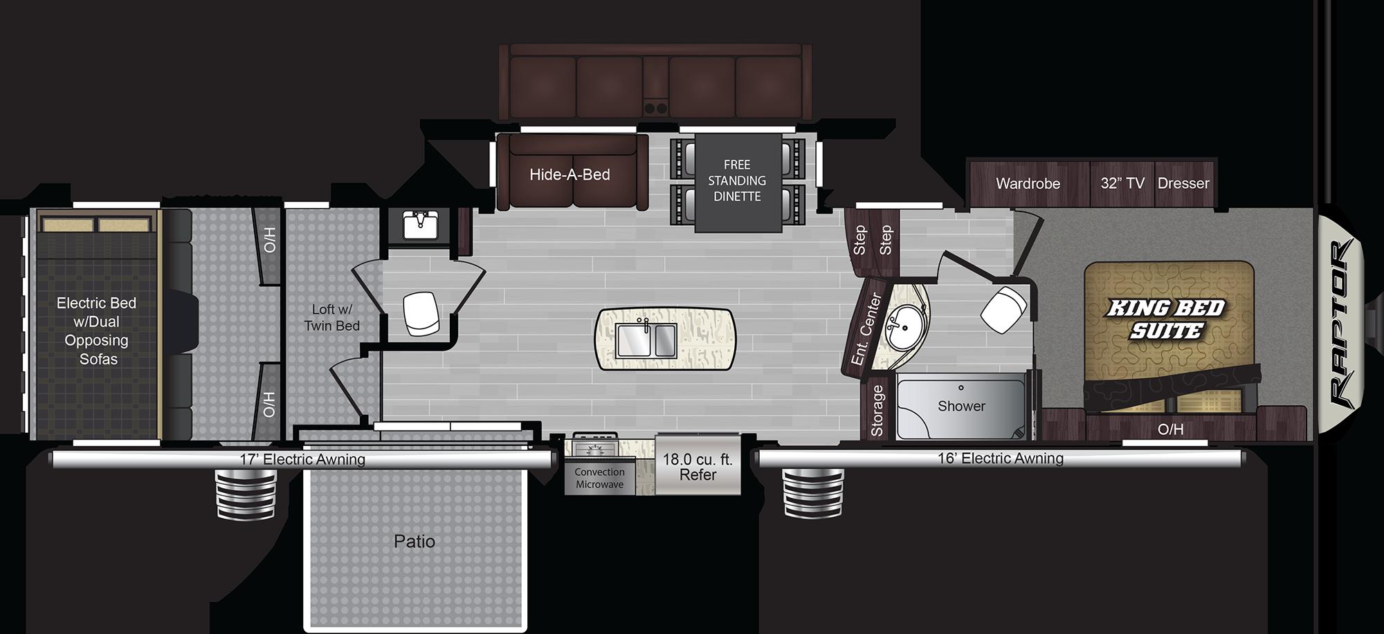 428SP Floorplan