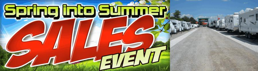 SPRING INTO SUMMER SALES EVENT!