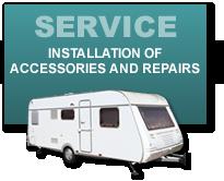 RV Accessories, Repairs, Service
