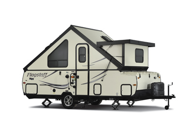 FLAGSTAFF Hard Side Pop up Camper