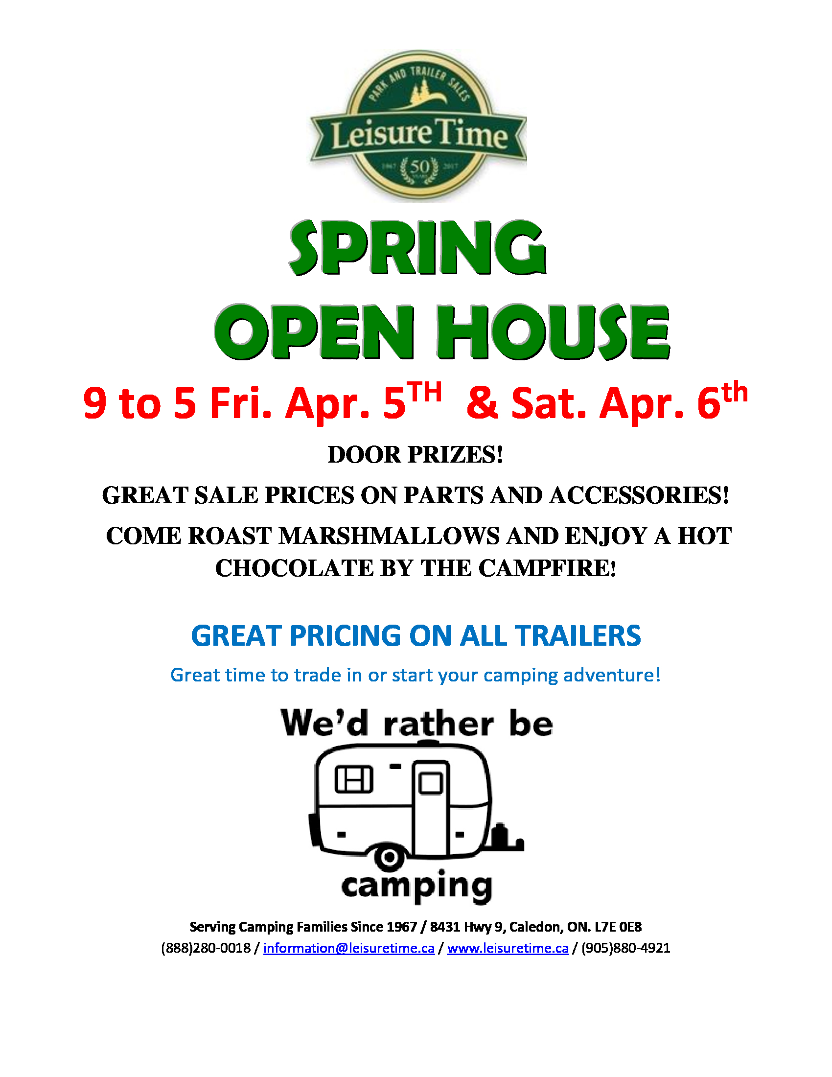 OPEN HOUSE APRIL 5TH AND 6TH - Thumbnail