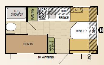 16BH Floorplan