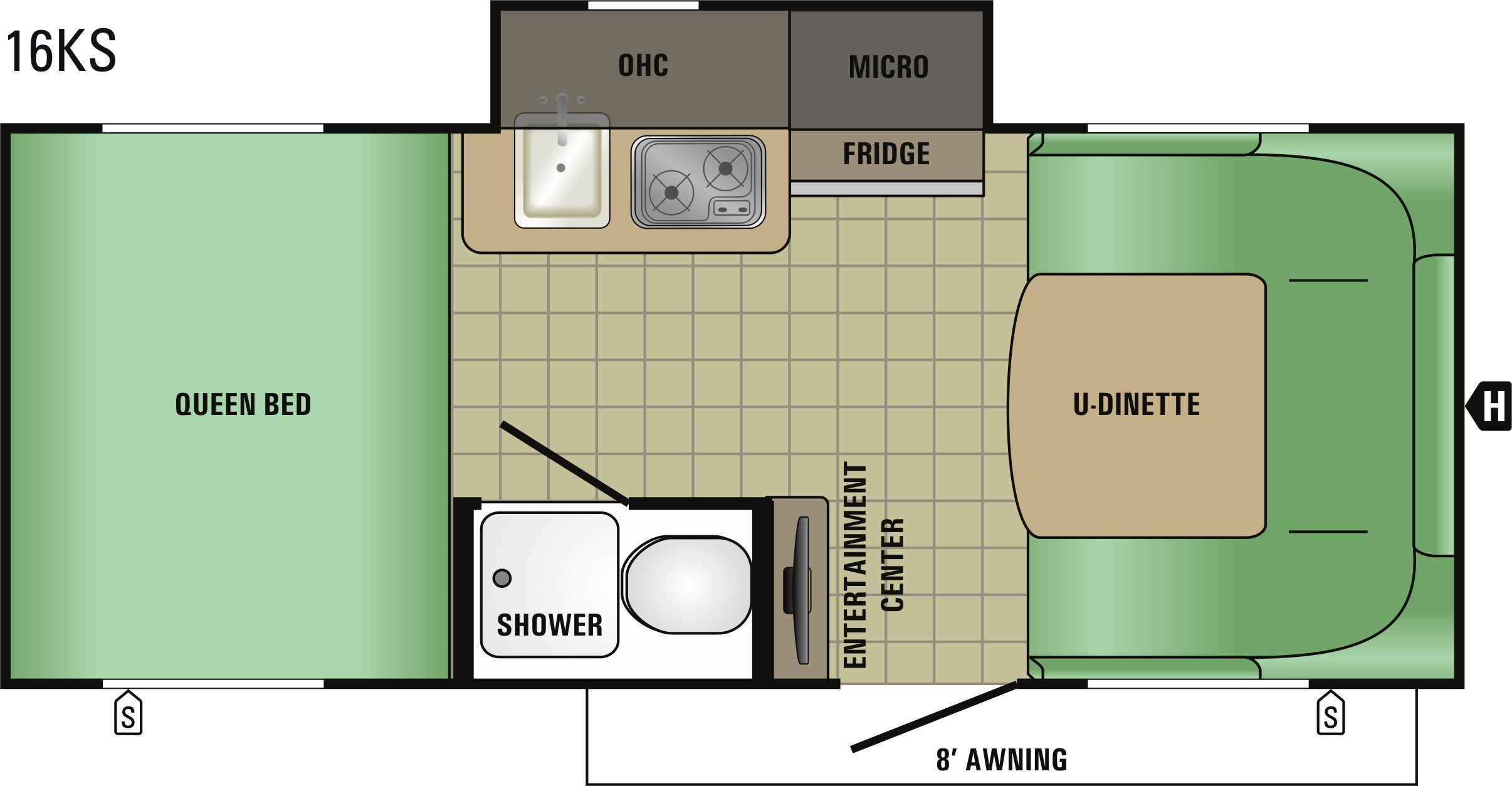 16KS Floorplan