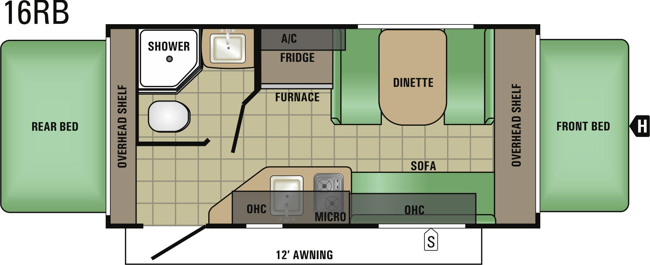 16RB Floorplan