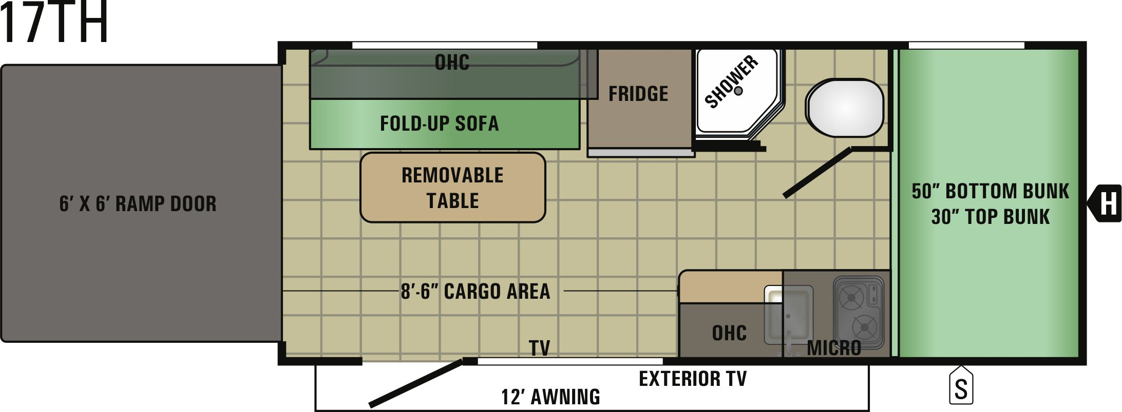 17TH Floorplan
