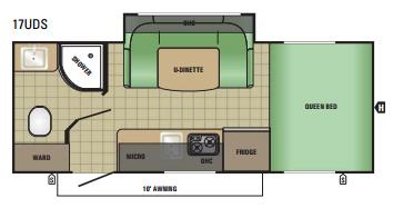 17UDS Floorplan