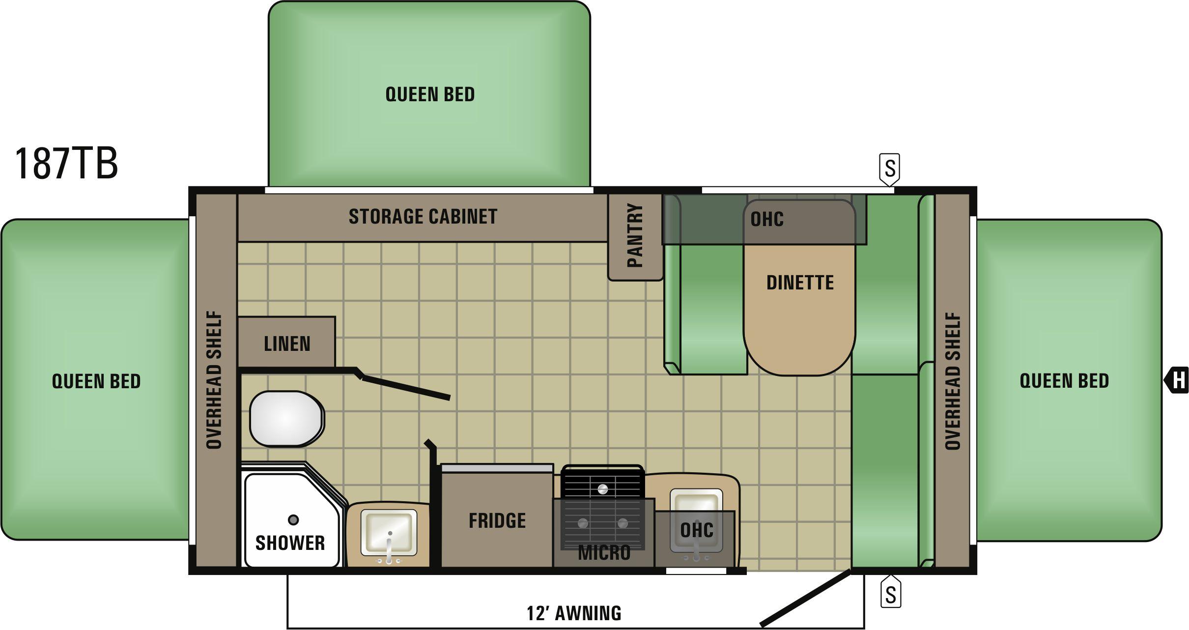 187TB Floorplan