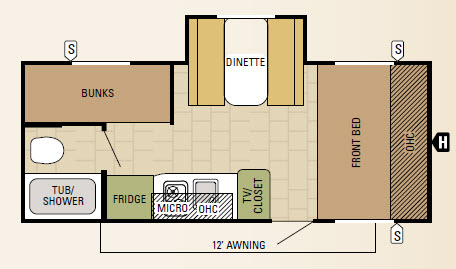 18BHS Floorplan