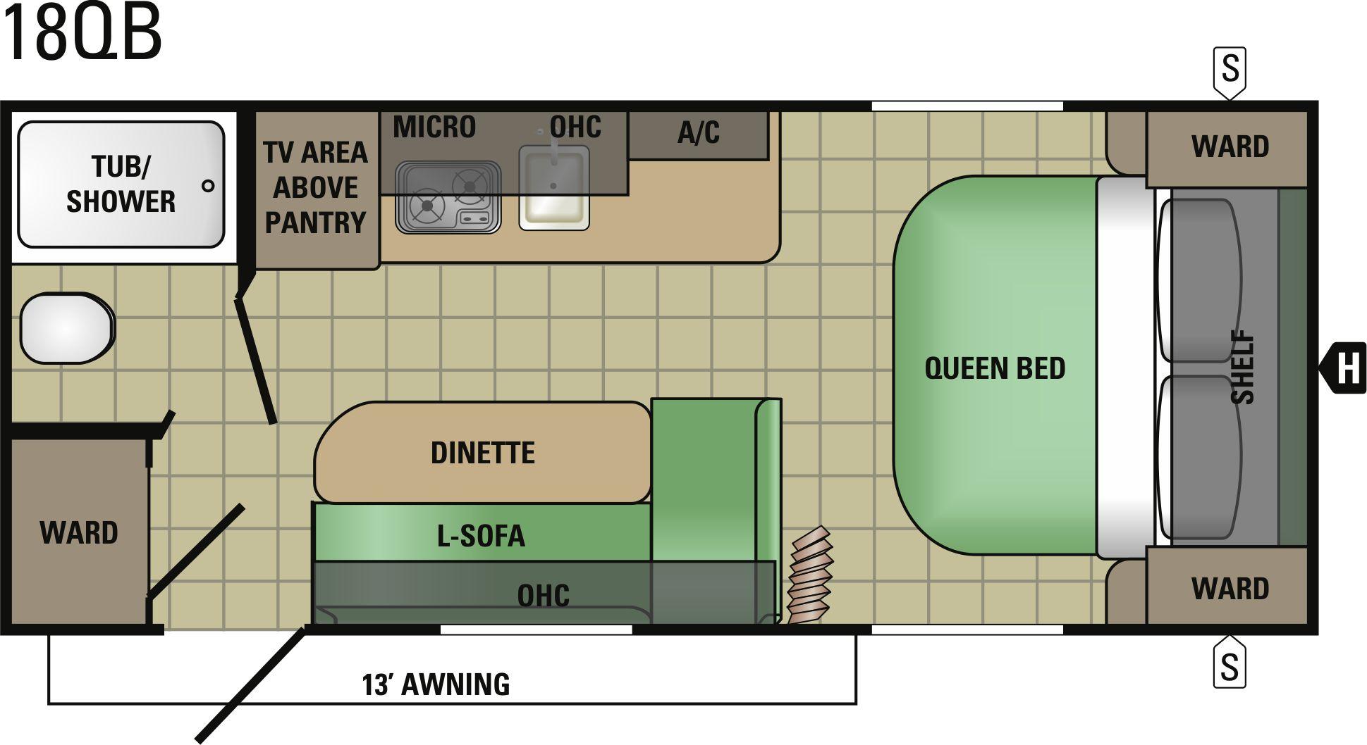 18QB Floorplan