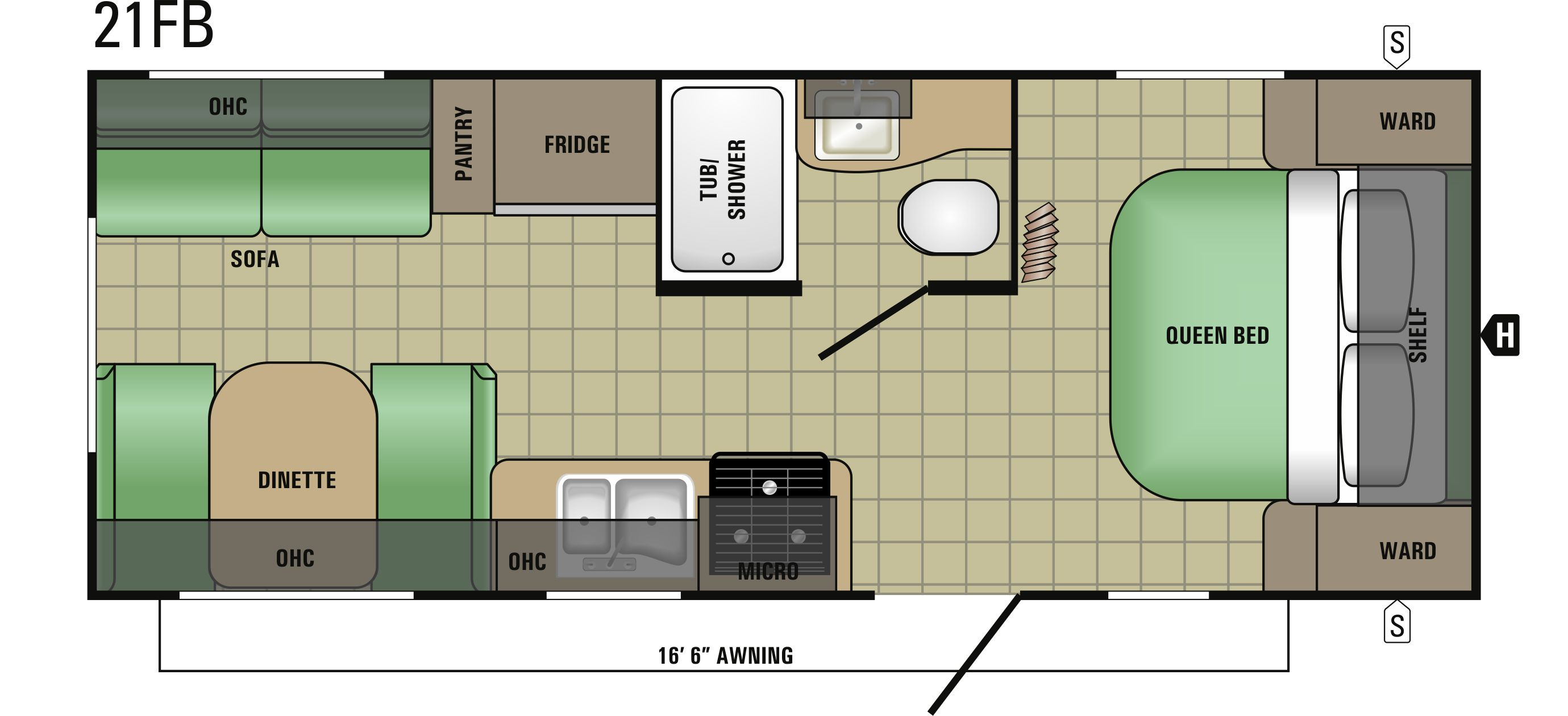 21FB Floorplan