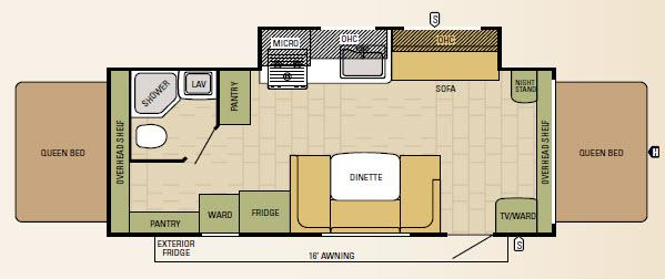 227CKS Floorplan
