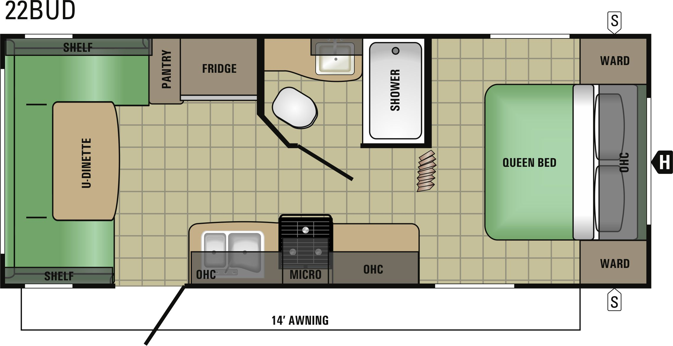 22BUD Floorplan