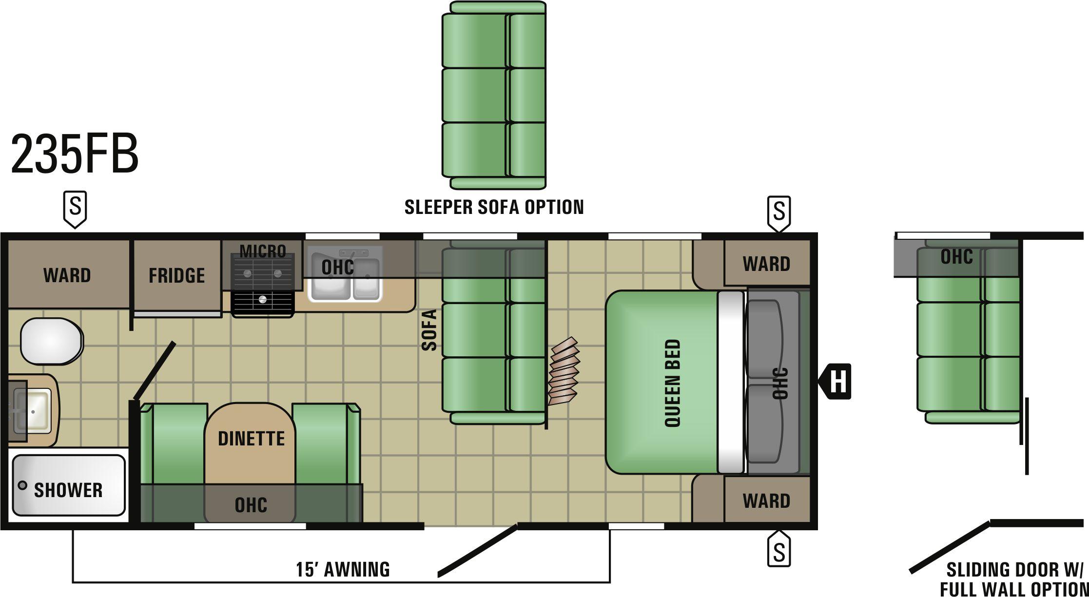 235FB Floorplan