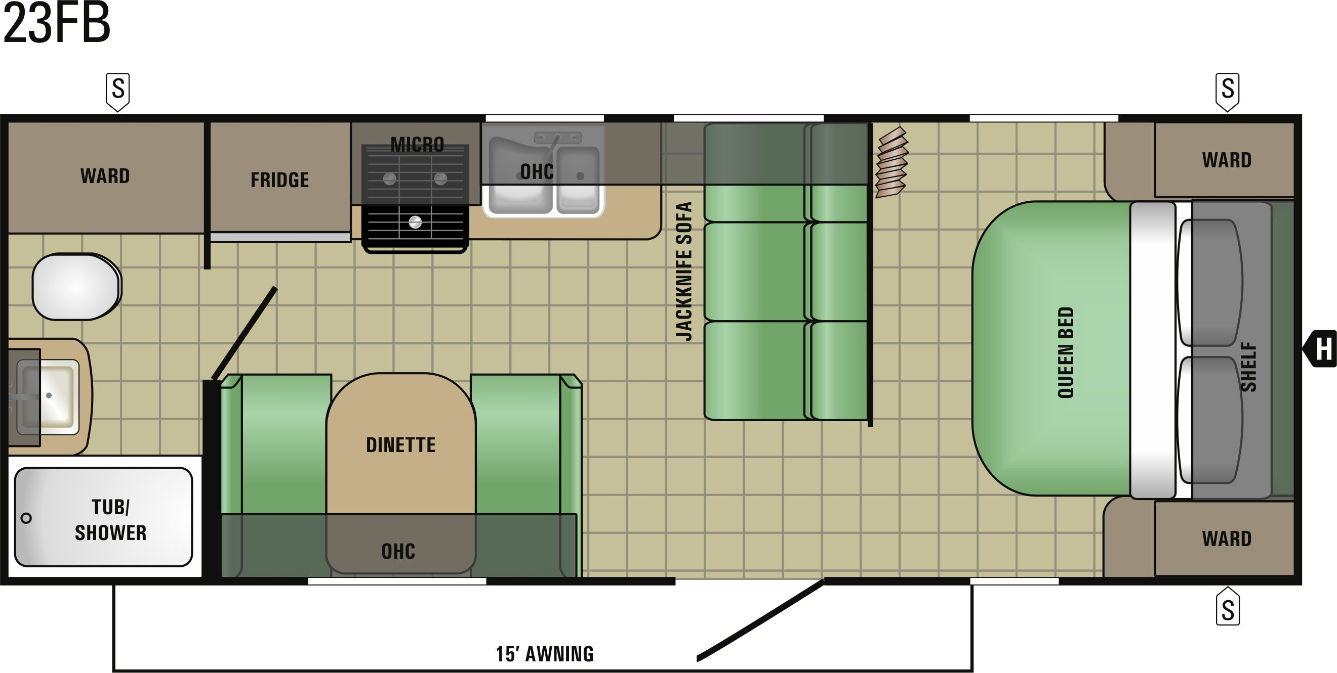23FB Floorplan