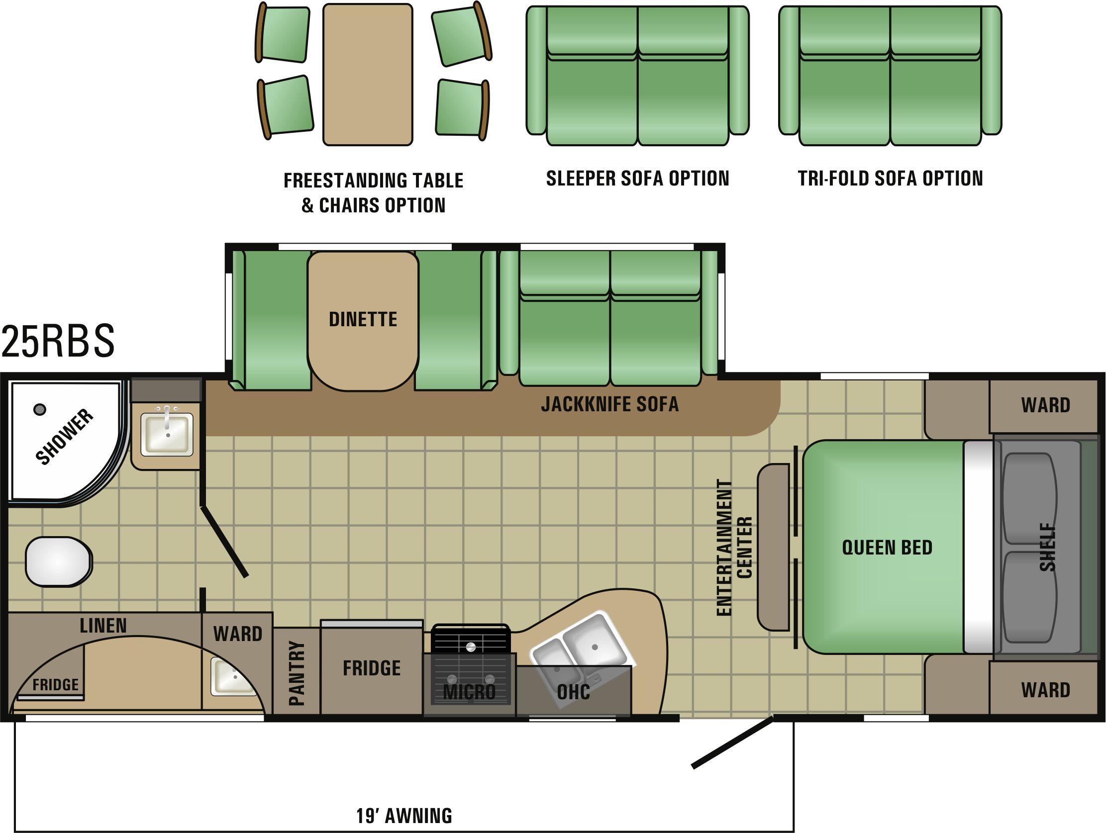 25RBS Floorplan