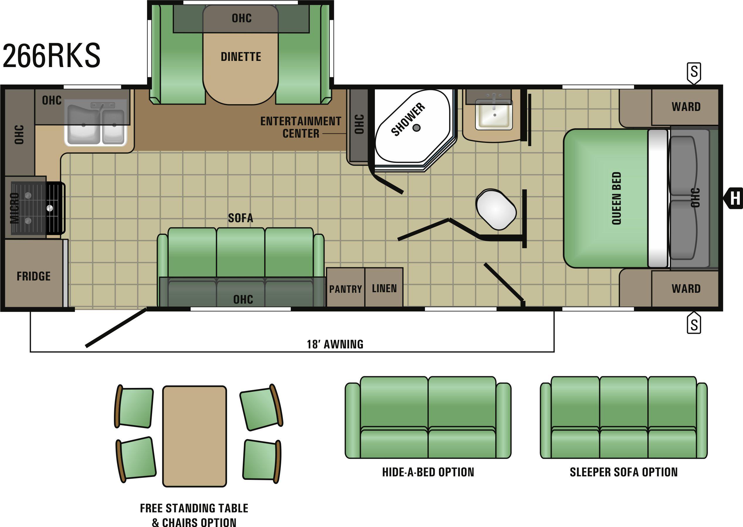 266RKS Floorplan