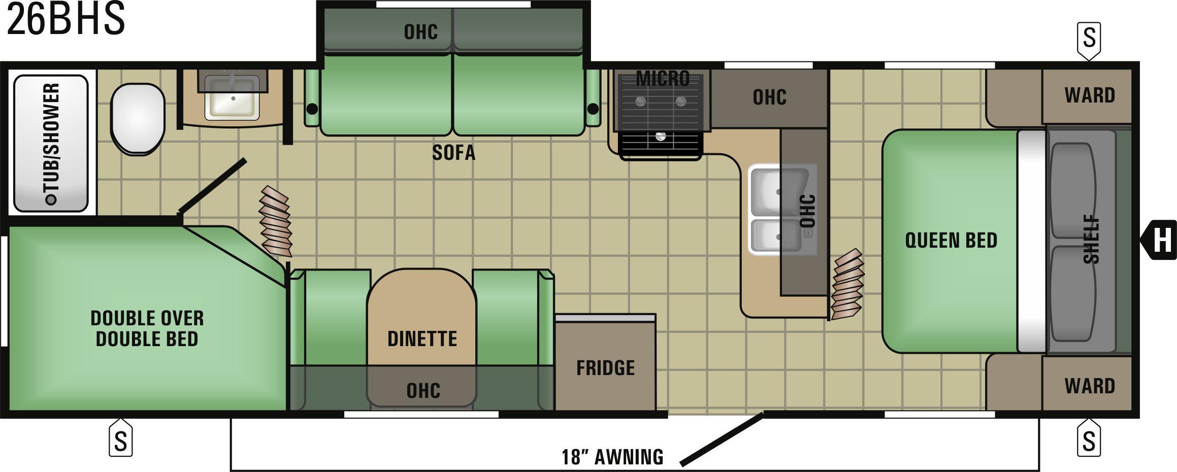 26BHS Floorplan
