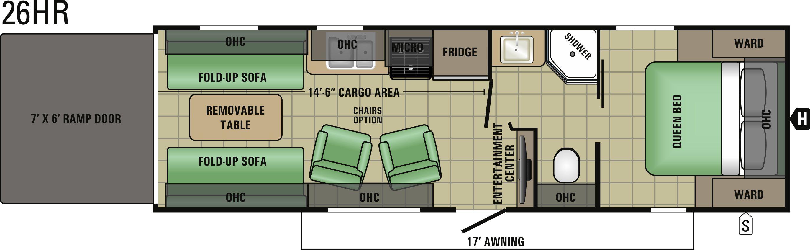26HR Floorplan