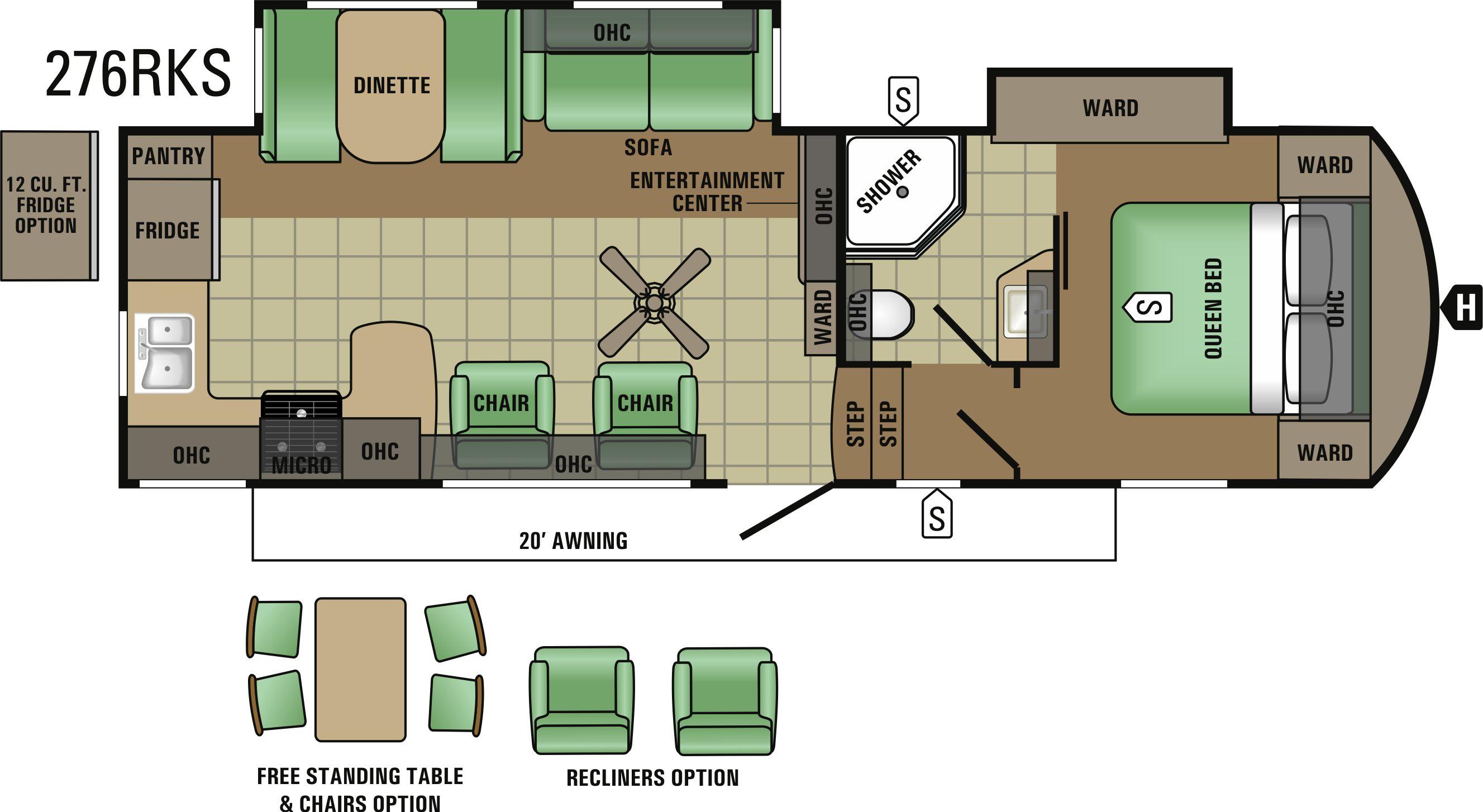 276RKS Floorplan