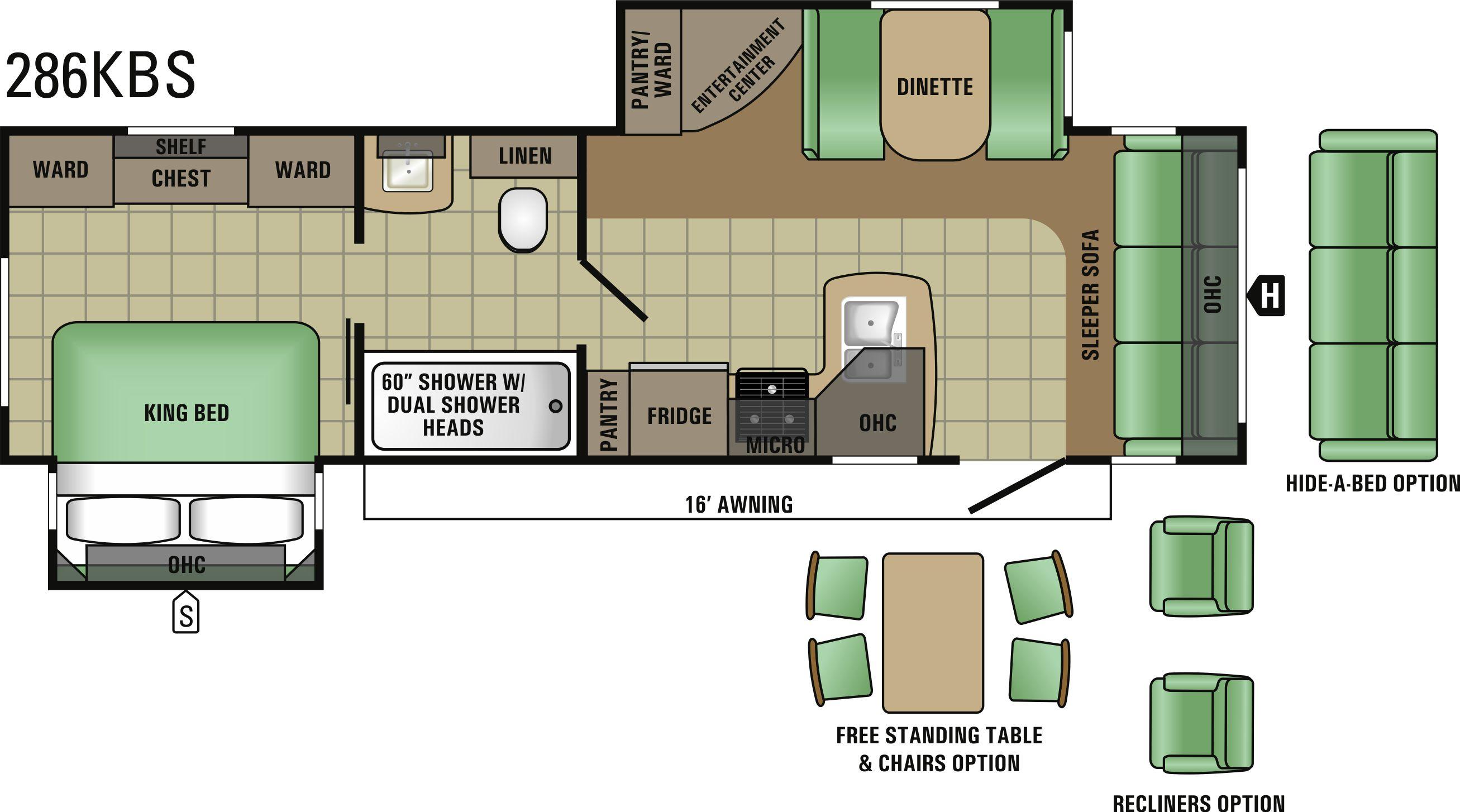 286KBS Floorplan