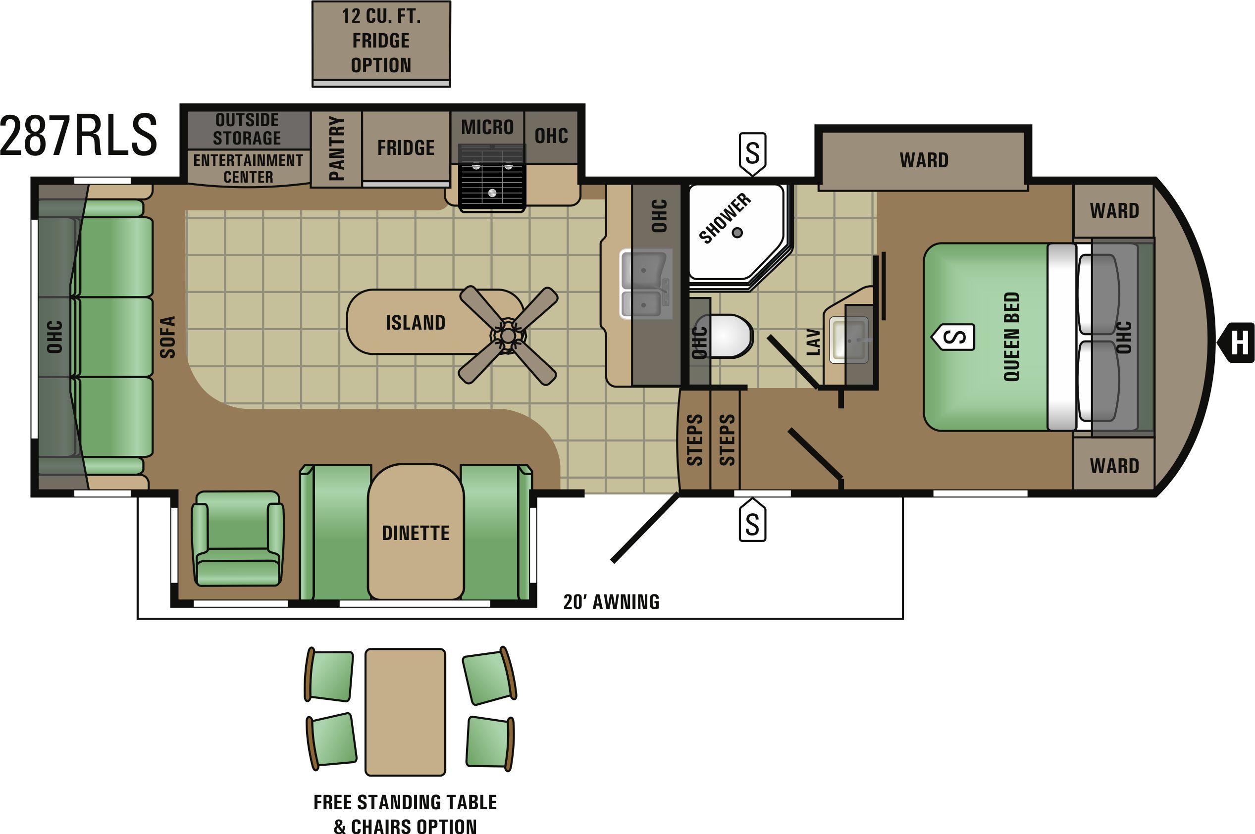 287RLS Floorplan