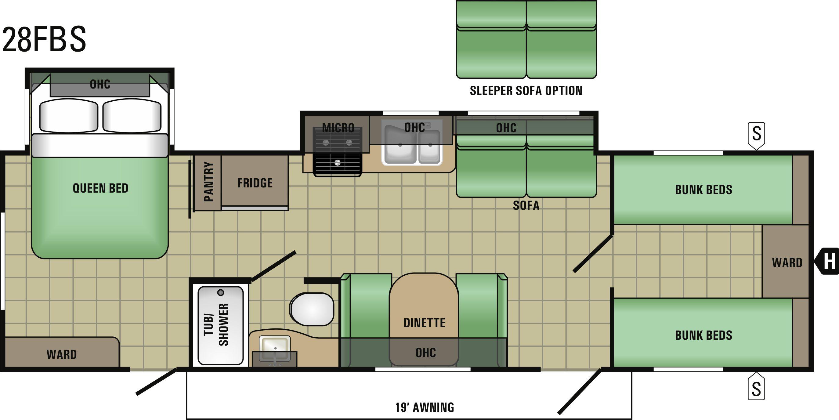 28FBS Floorplan